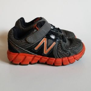 New Balance 750 V2  Orange & Grey Sneakers 5.5C